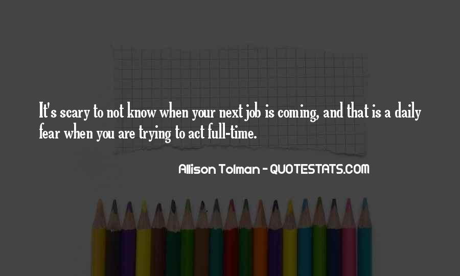 Allison Tolman Quotes #1295946