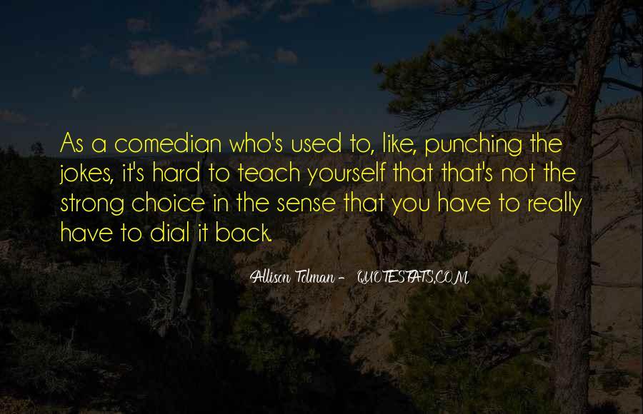 Allison Tolman Quotes #1336125