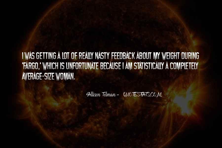 Allison Tolman Quotes #1411852