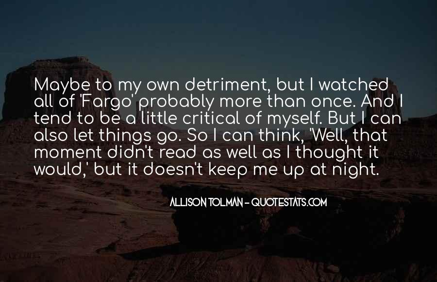 Allison Tolman Quotes #1439728