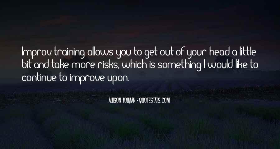 Allison Tolman Quotes #1599420