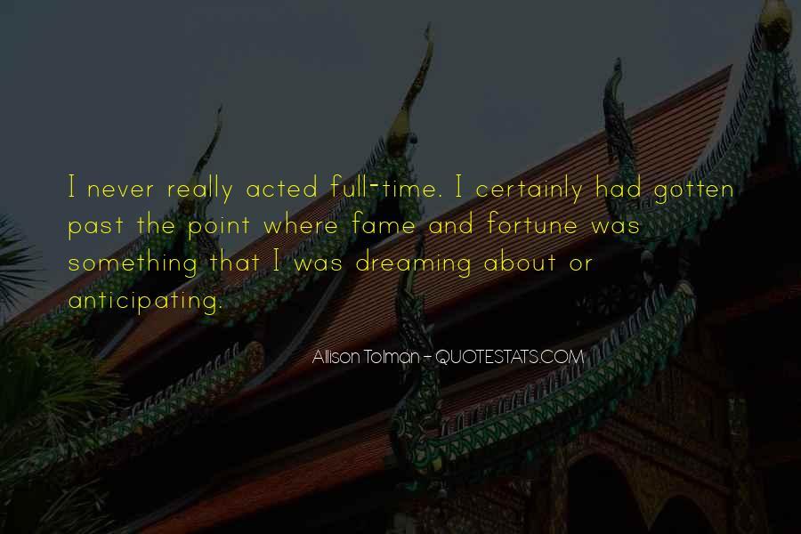 Allison Tolman Quotes #1712321