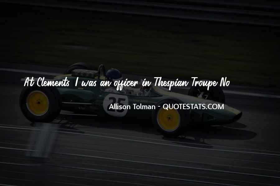 Allison Tolman Quotes #1809478