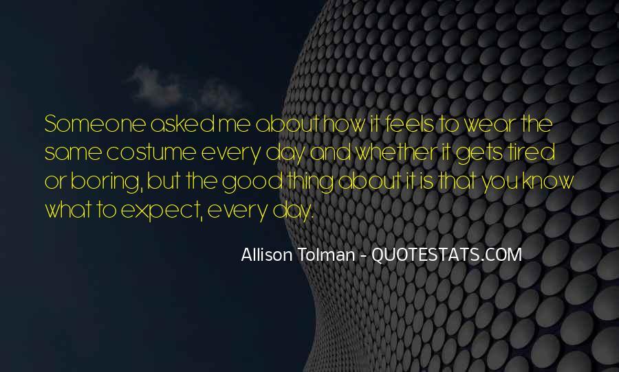 Allison Tolman Quotes #28365
