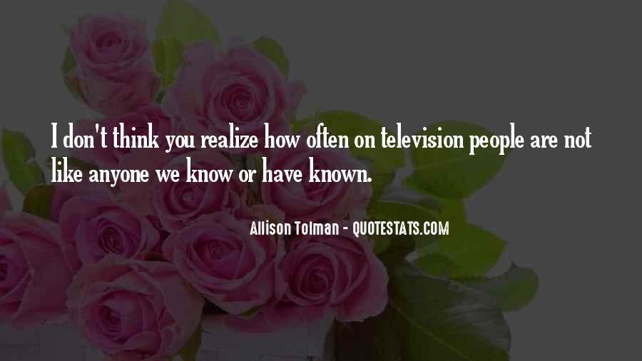 Allison Tolman Quotes #296112