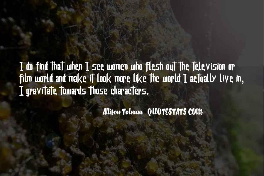 Allison Tolman Quotes #372796
