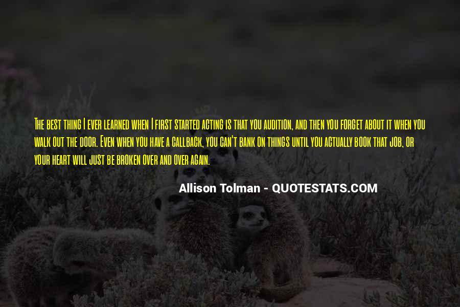 Allison Tolman Quotes #620059
