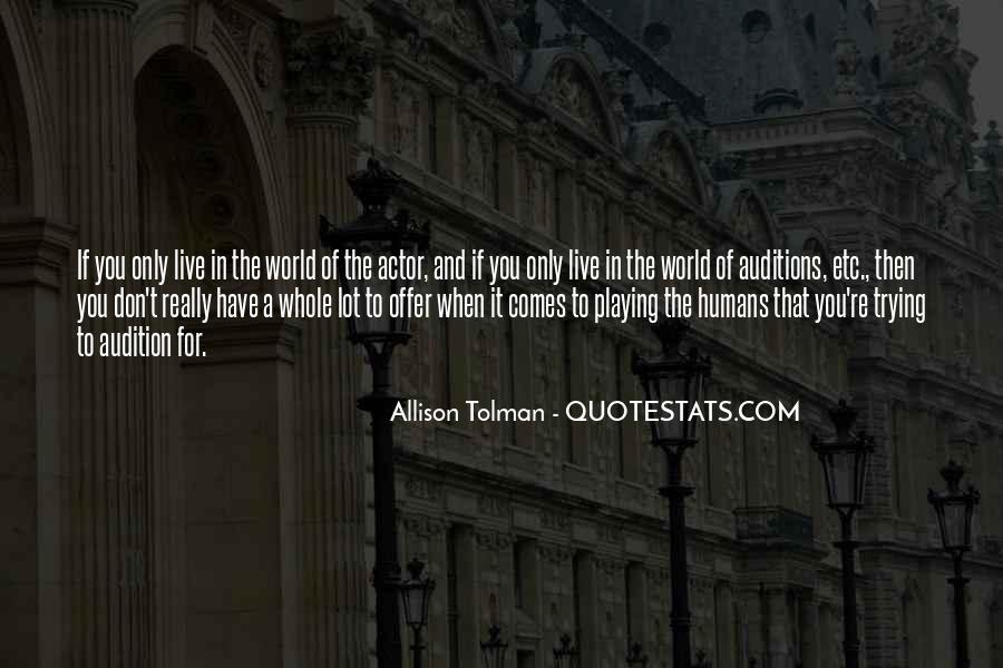 Allison Tolman Quotes #688040