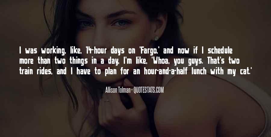 Allison Tolman Quotes #966098