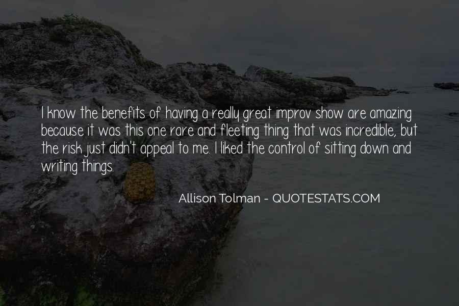 Allison Tolman Quotes #998136