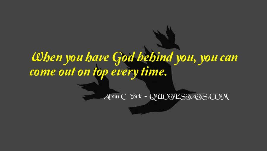 Alvin C. York Quotes #827276