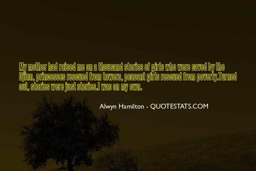 Alwyn Hamilton Quotes #1622400