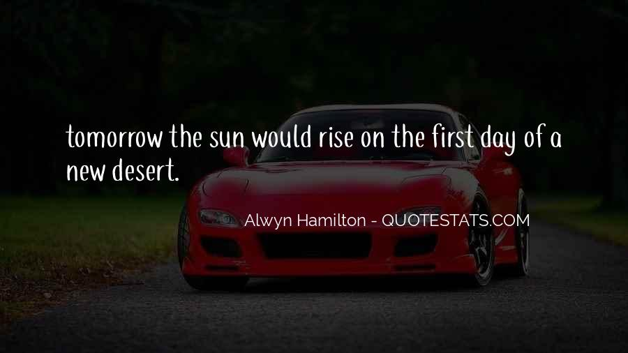 Alwyn Hamilton Quotes #426091