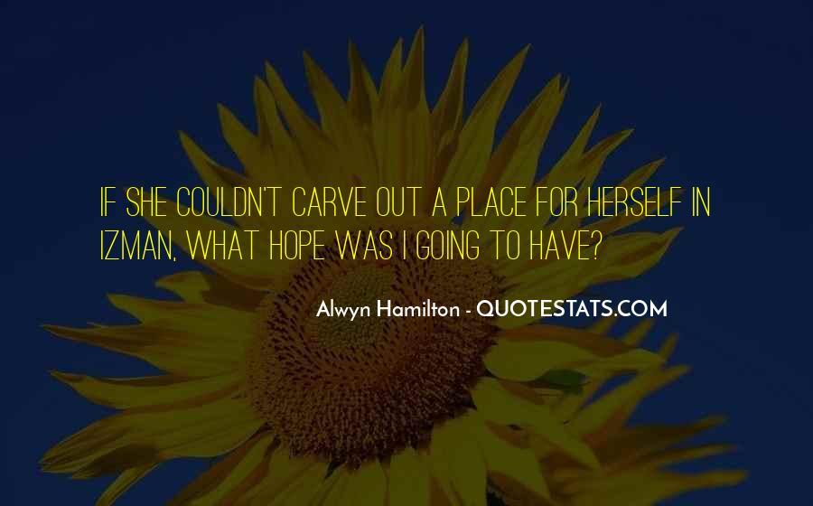 Alwyn Hamilton Quotes #669868