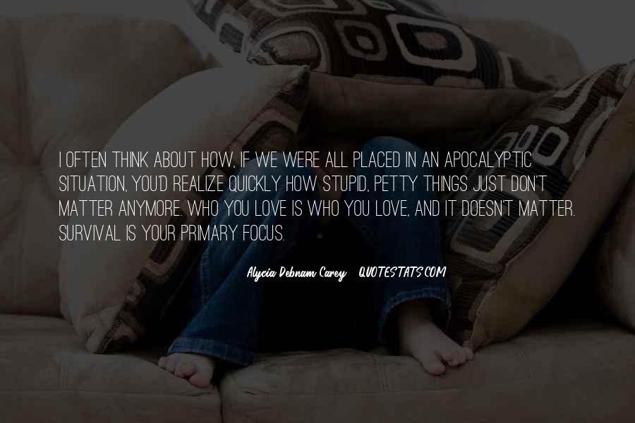 Alycia Debnam Carey Quotes #1753669