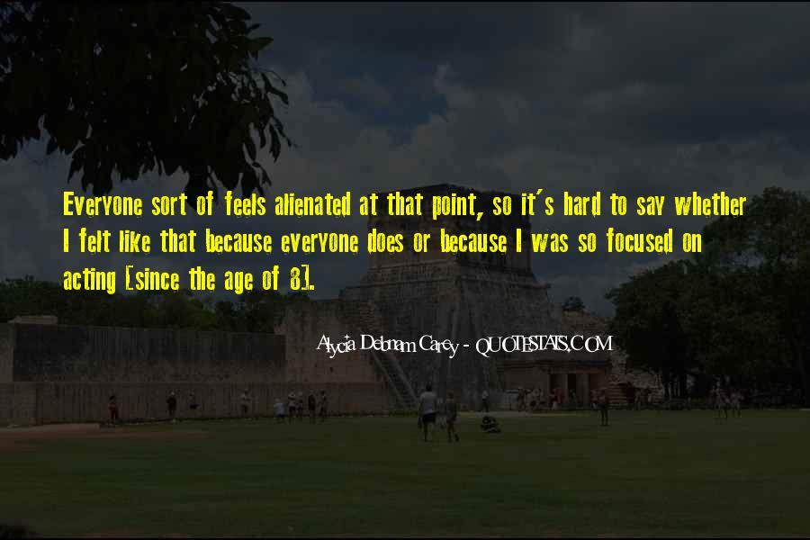 Alycia Debnam Carey Quotes #1879394