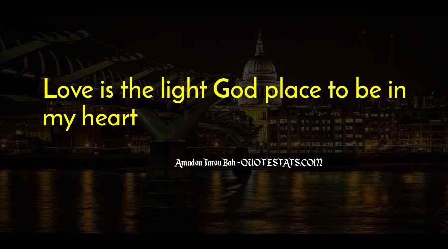 Amadou Jarou Bah Quotes #485533
