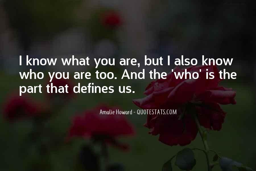 Amalie Howard Quotes #843379