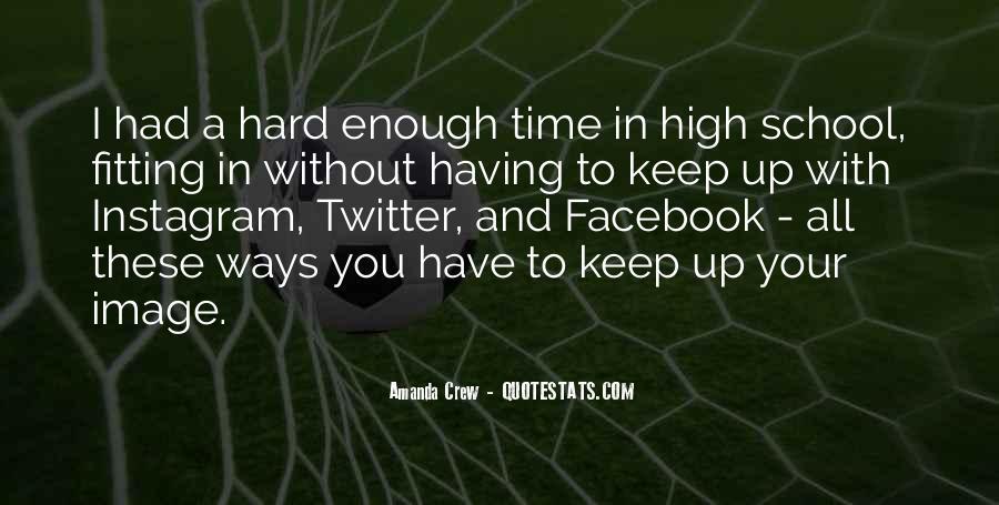 Amanda Crew Quotes #1124509