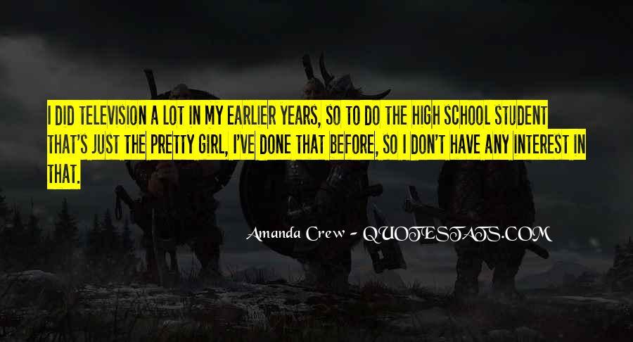 Amanda Crew Quotes #1398860