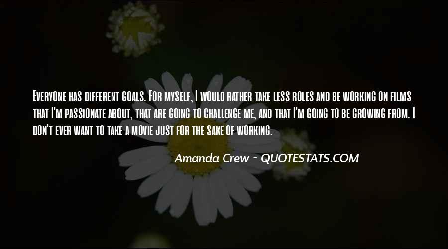 Amanda Crew Quotes #1767369