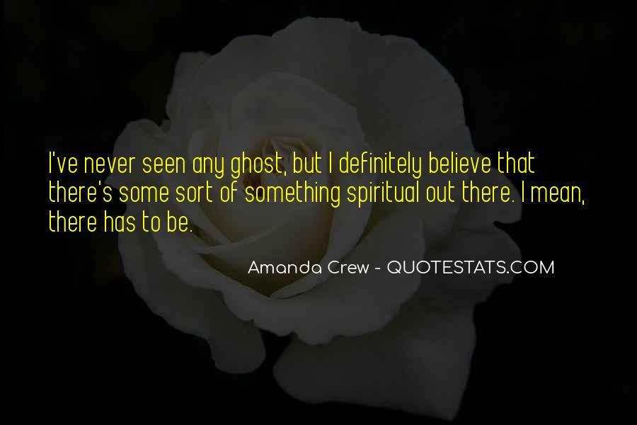 Amanda Crew Quotes #436430