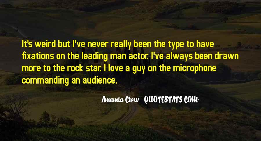 Amanda Crew Quotes #480760