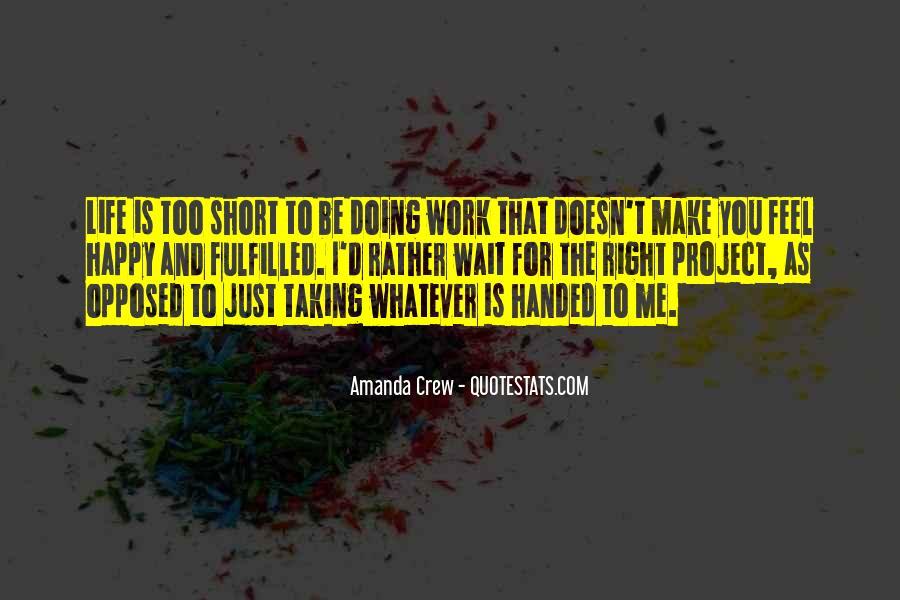 Amanda Crew Quotes #839832