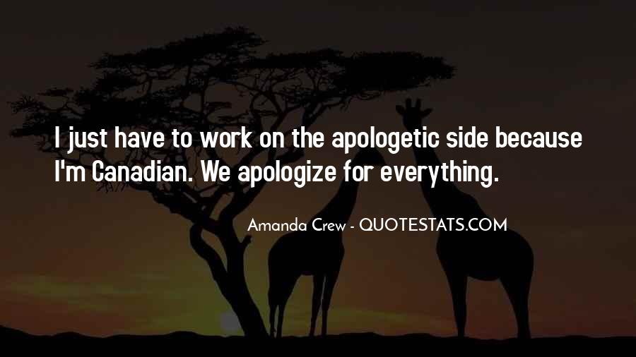 Amanda Crew Quotes #8973