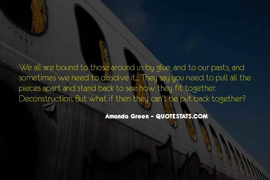 Amanda Green Quotes #1547325