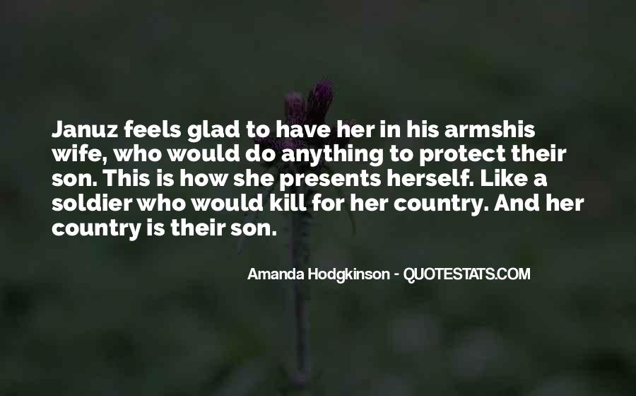 Amanda Hodgkinson Quotes #1324742