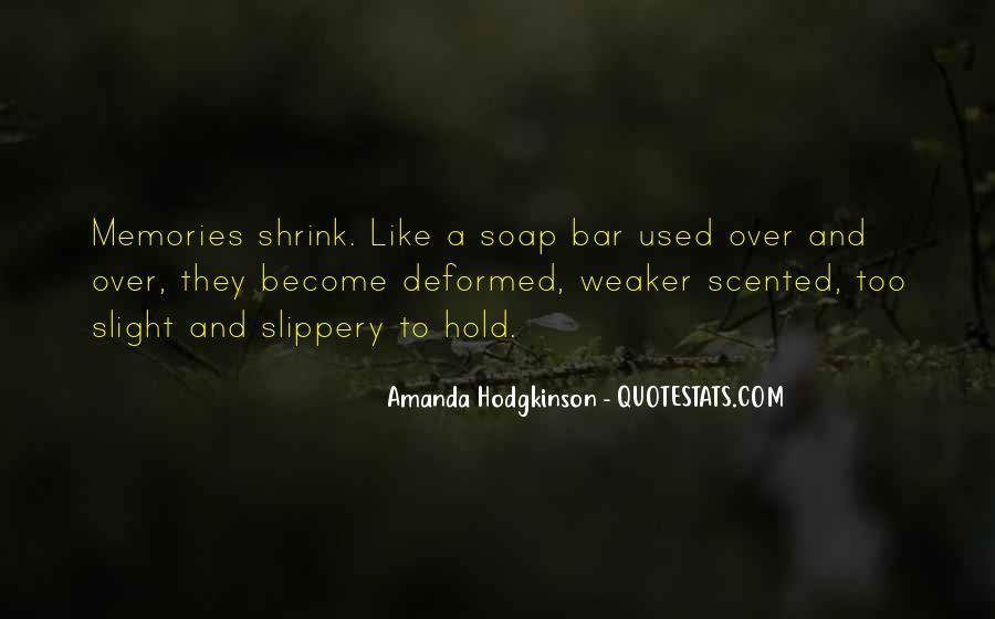 Amanda Hodgkinson Quotes #1329797