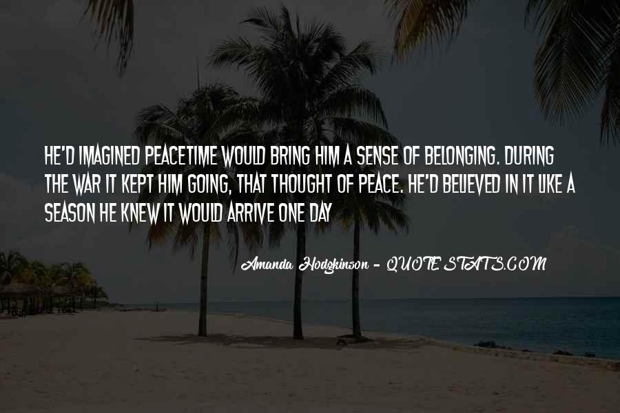 Amanda Hodgkinson Quotes #890400