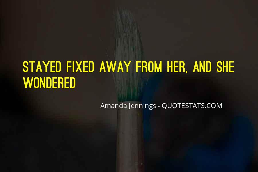 Amanda Jennings Quotes #1723923
