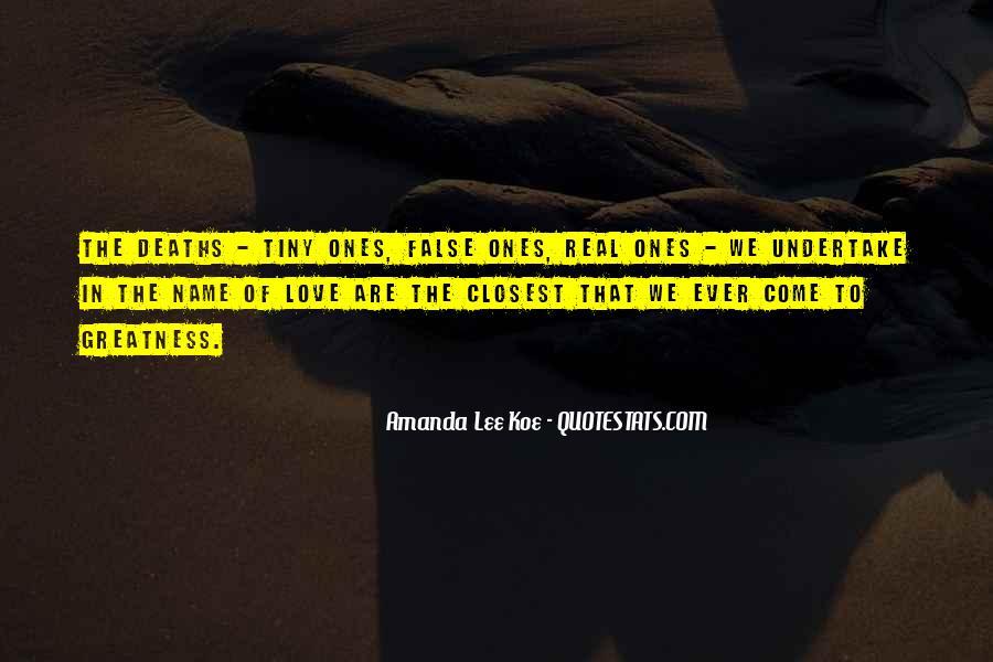 Amanda Lee Koe Quotes #1291931
