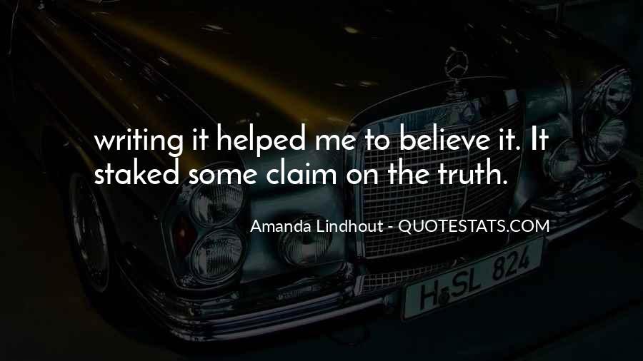 Amanda Lindhout Quotes #1016792