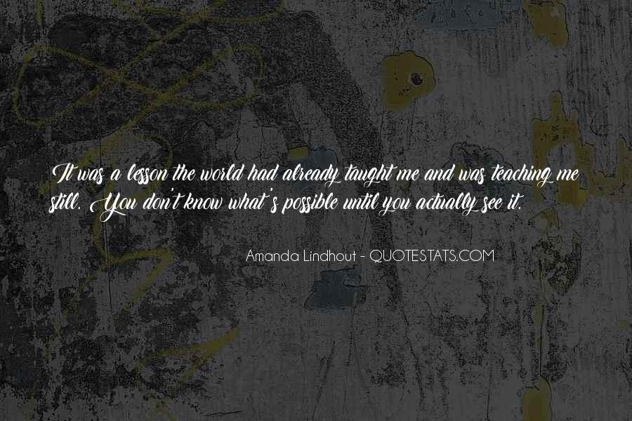Amanda Lindhout Quotes #1310540