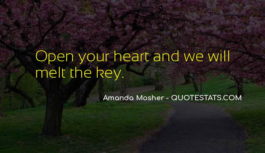 Amanda Mosher Quotes #71210