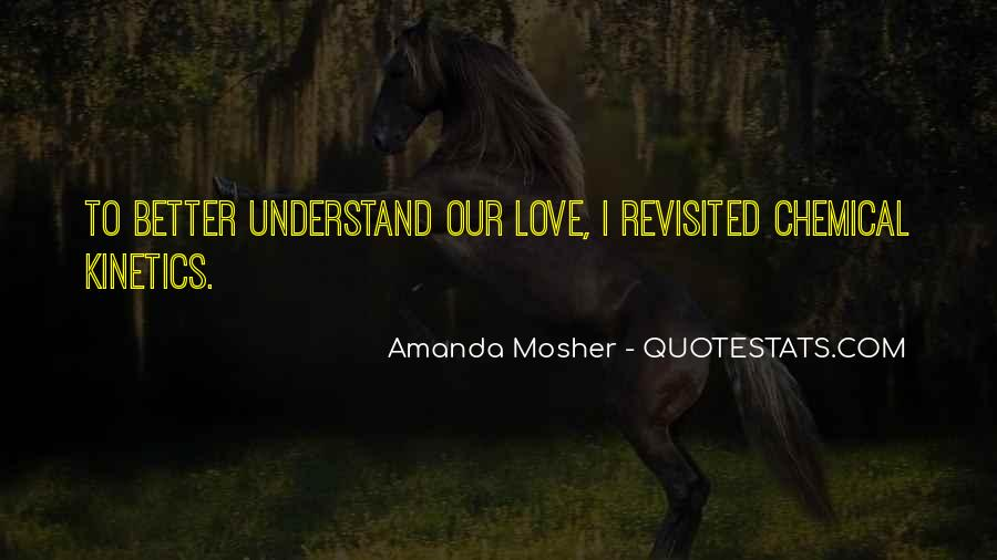Amanda Mosher Quotes #737636