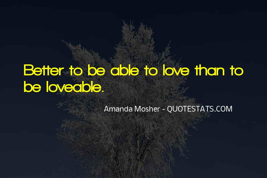 Amanda Mosher Quotes #873192