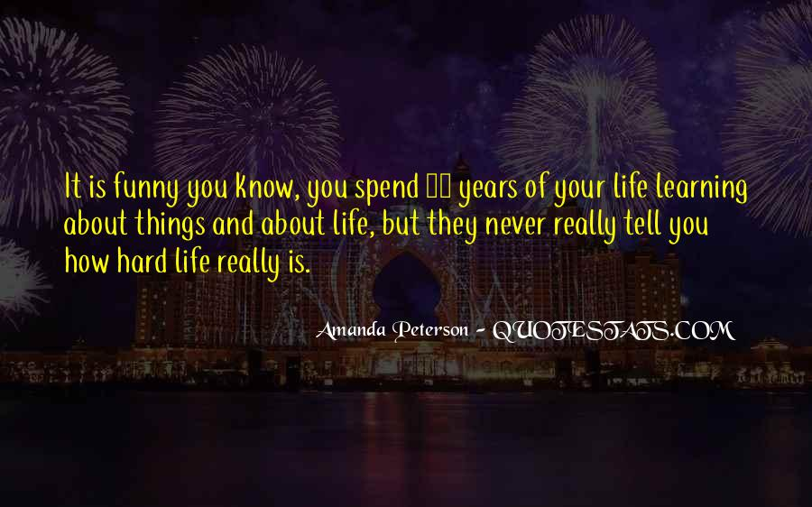 Amanda Peterson Quotes #988030
