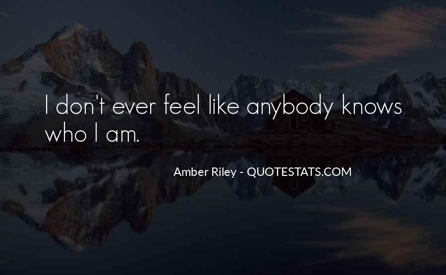 Amber Riley Quotes #910249
