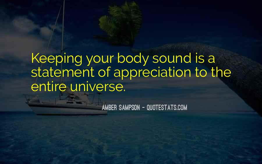 Amber Sampson Quotes #1831324