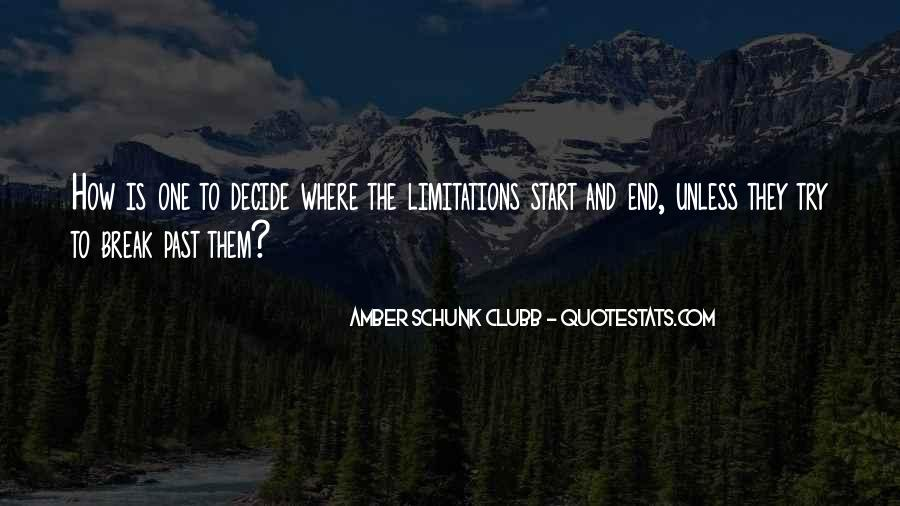 Amber Schunk Clubb Quotes #430861
