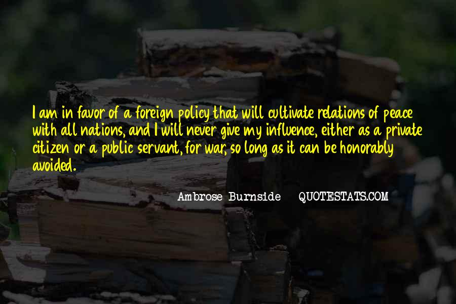 Ambrose Burnside Quotes #1437185
