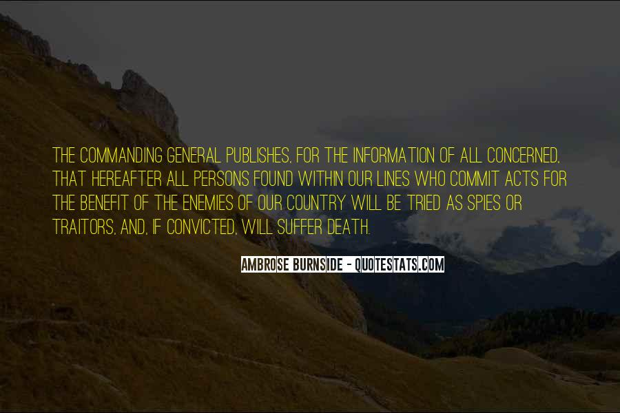 Ambrose Burnside Quotes #1593887