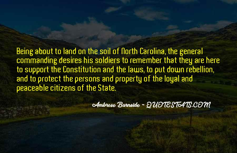 Ambrose Burnside Quotes #1853167