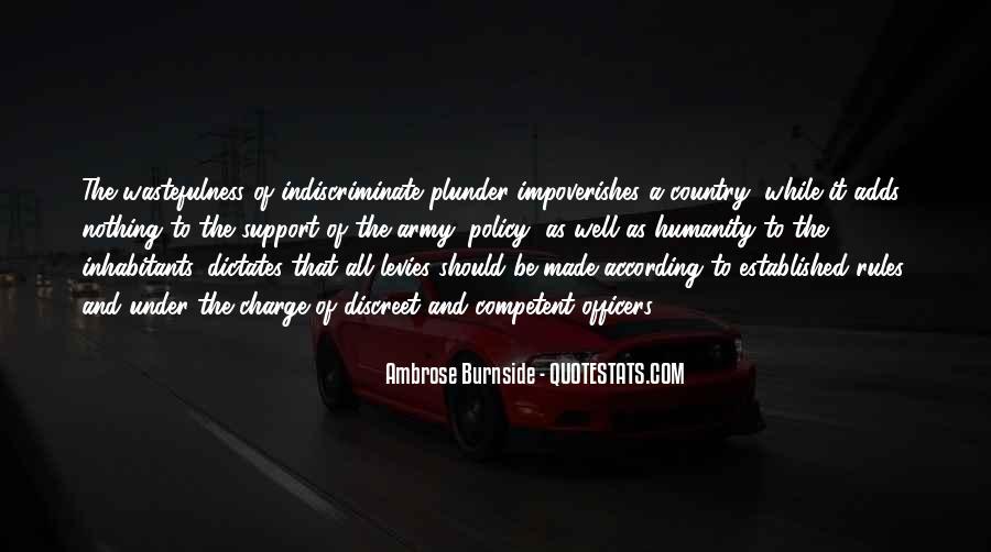 Ambrose Burnside Quotes #310092