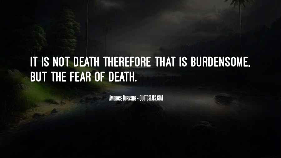 Ambrose Burnside Quotes #364484