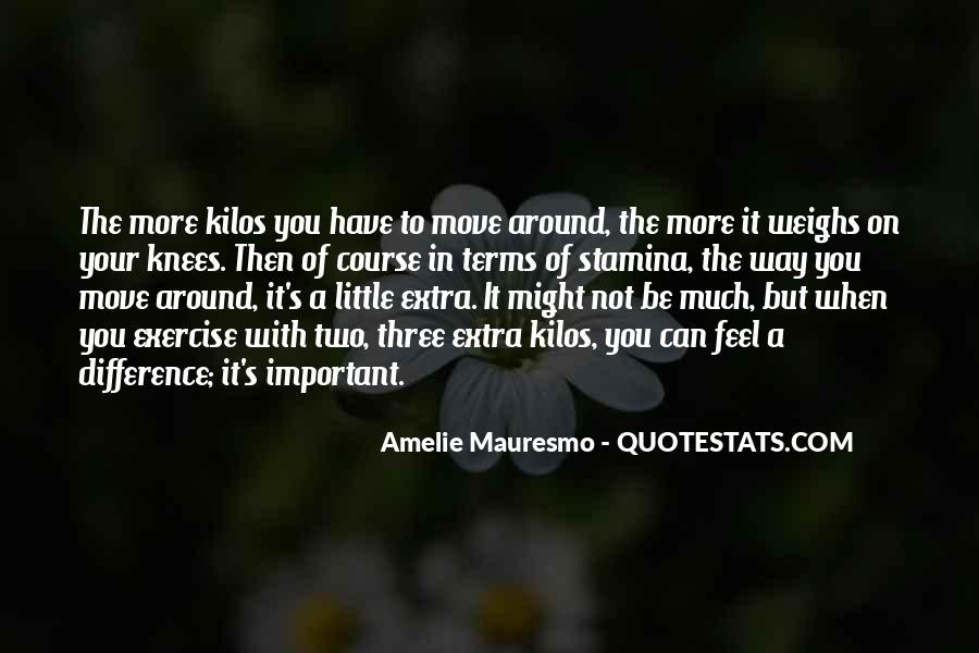 Amelie Mauresmo Quotes #630437